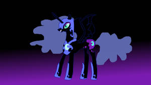Nightmare Moon by The-Double-U
