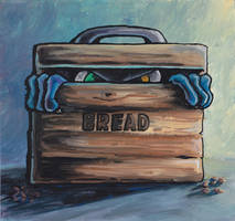 Something in the bread bin by Inkyhollow