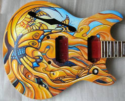Butterfly guitar by Inkyhollow