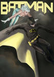 Bat-man and Ice by Mielytu