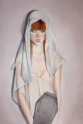 Whiteye-1 by Mielytu