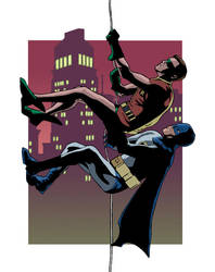 Batman and Robin by arcarsenal