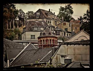 Roofs of Eh Stein by Spiritofdarkness