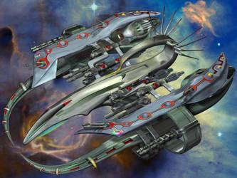 Scorpion HeavyFighter 01 by Spiritofdarkness