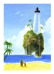 Tortoise Lighthouse by aragornbird