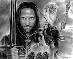 The Return of the King by aragornbird
