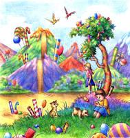Candyland by aragornbird
