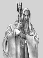 Saruman by aragornbird