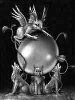 The Crystal Ball by aragornbird