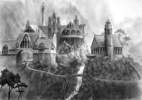 Rivendell by aragornbird