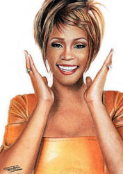 Whitney Houston by emilie-creations