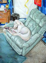jedi's chair by whiterabbitart