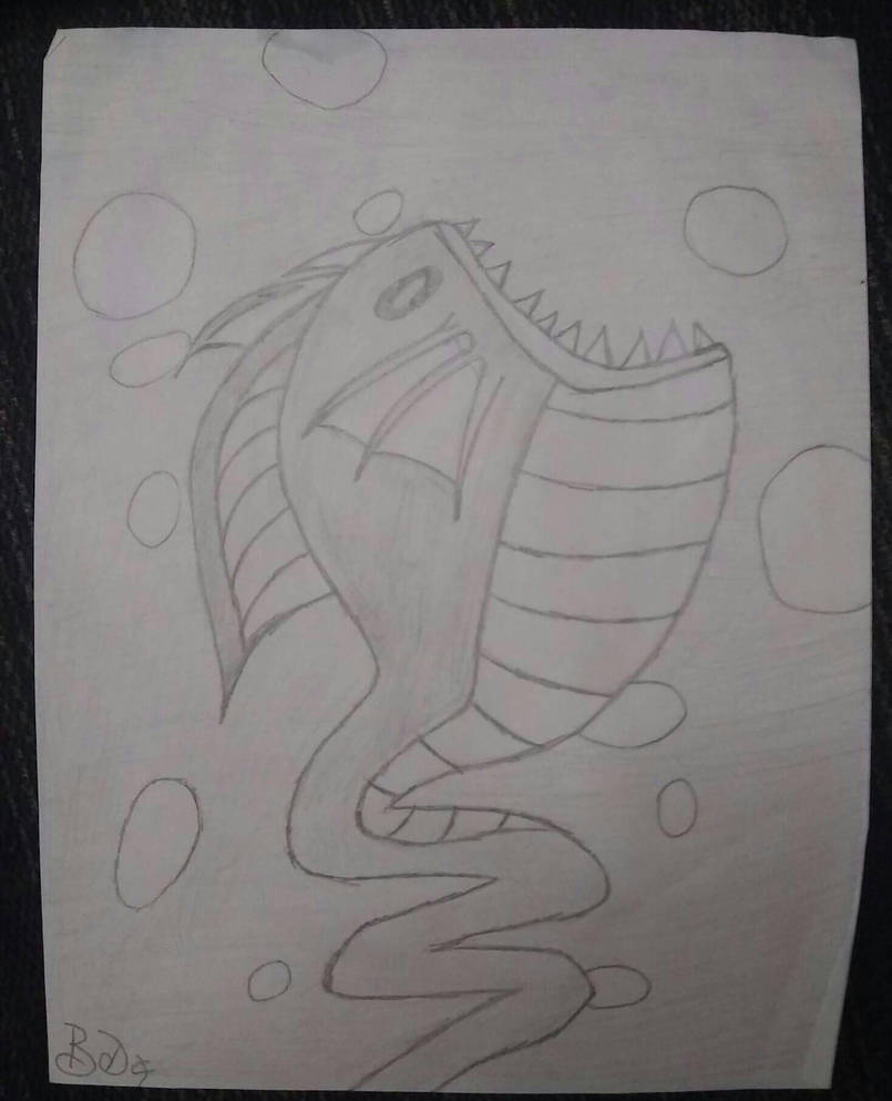 Sea Lizard by OzBabbit