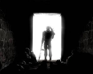 Figure in the doorway by croguy