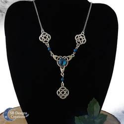 Celtic necklace Celtic jewelry Celtic knot by Nyjama