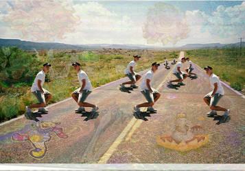Gettin down in New Mexico on Acid many Trevs2 by JayTeeBeeTee