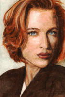 Agent Dana Scully by radarlove413