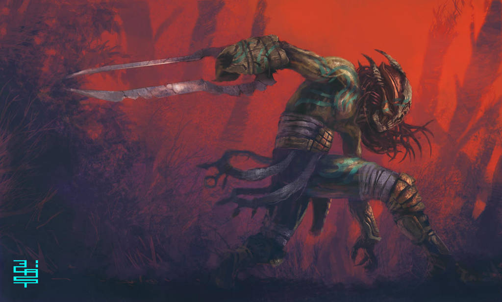 loa predator- by XRobinGoodFellowX