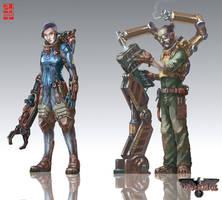 Walkure RPG characters- by XRobinGoodFellowX