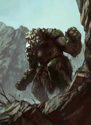 Stone Giant- by XRobinGoodFellowX