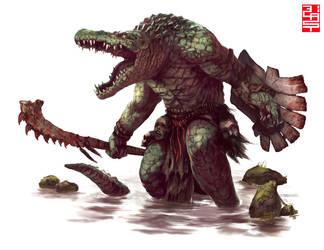 GatorMan- by XRobinGoodFellowX