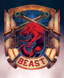 Beast - Coat of Arm- by XRobinGoodFellowX