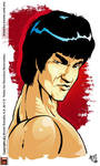 Bruce Lee by satchmau