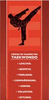 Taekwondo Code of Values by satchmau