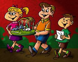 Chabelo: postal Navidad04 by satchmau