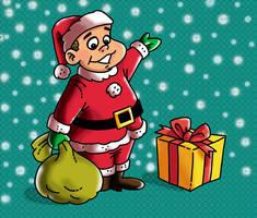 Chabelo: postal Navidad05 by satchmau