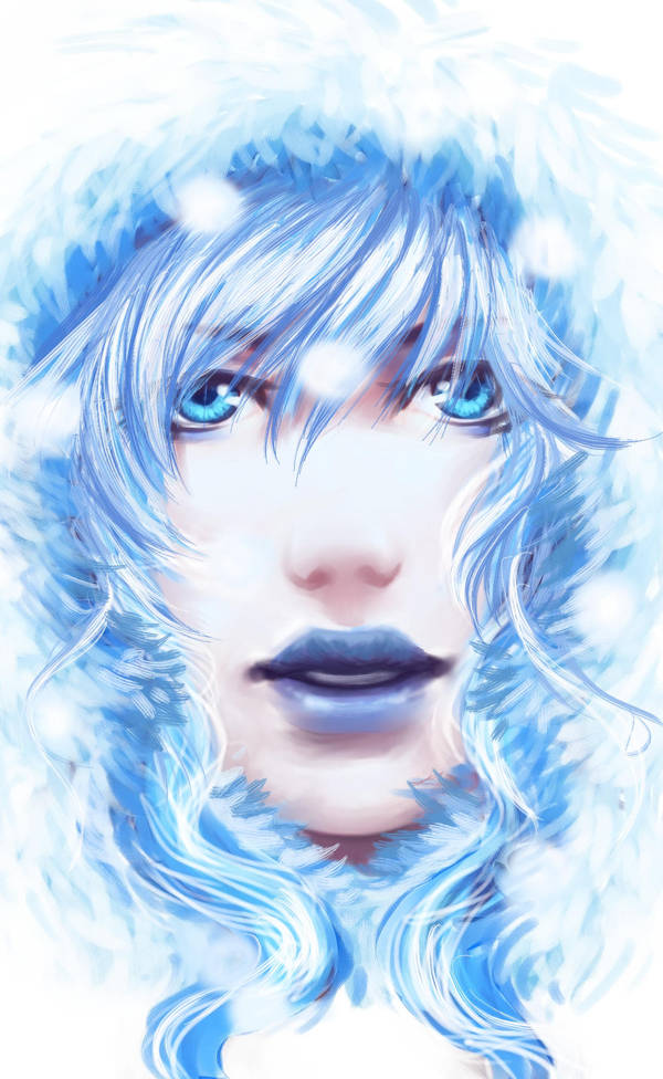Speedpaint: Snowgirl by Oniwolf12