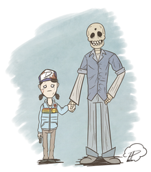 Never Alone - The Walking Dead S2 by SrPelo