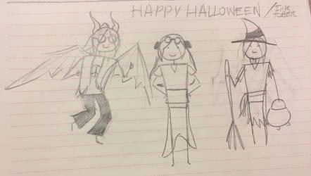 Happy Halloween by Puggyface200