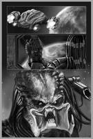 PREDATOR COMIC PAGE by galindoart