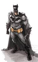 Batmanscketchcolor72 by galindoart