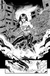 Wonderwoman by galindoart