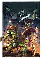 Sarno a Fumetti 2011 - Poster by Yleniadn86