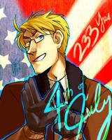 HAPPY FOURTH OF JULY BITCHES by Blue-Fox