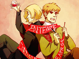 more like entente formidable by Blue-Fox