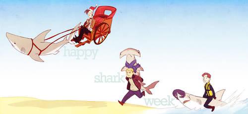 SHARK WEEK by Blue-Fox