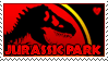 Jurassic Park stamp by Blue-Fox