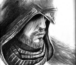 Ezio Sketch.. by Noosha77
