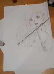 Kaori Miyazono by Sabotaju