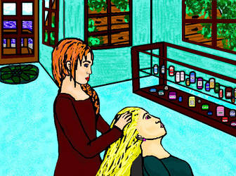 Hair Shop by Narnia-Rose