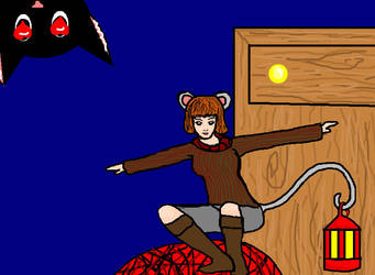 A Mouse on the Move by Narnia-Rose