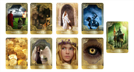Tarot Cards by Markhal