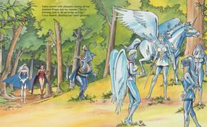 Frozen heroines by petrified-knight