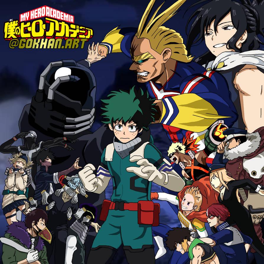 Boku No Hero Academia Season3 By Gokhan Art On Deviantart