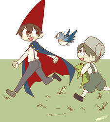 Over The Garden Wall by akamahura-yamato