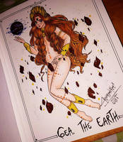 Gea... the earth by cristianrae
